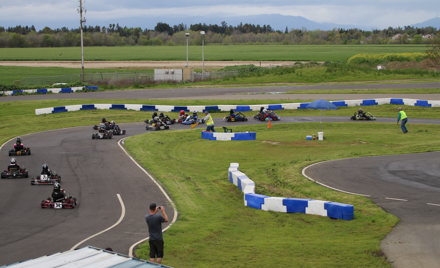Blue Max Kart Club Awards- late over flow dining