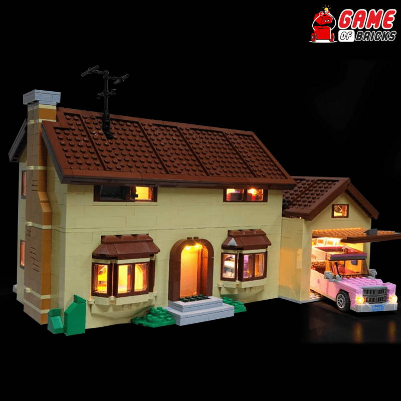 lego night light for THE SIMPSONS HOUSE 71006
