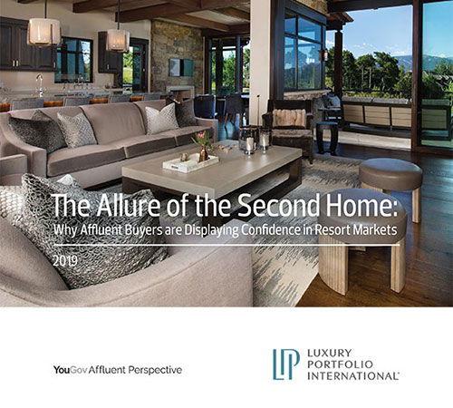 L'attrait de la résidence secondaire : Pourquoi les acheteurs fortunés affichent leur confiance dans les marchés de villégiature (2019).