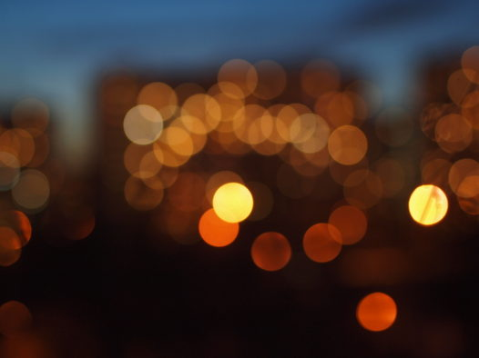 Огни большого города