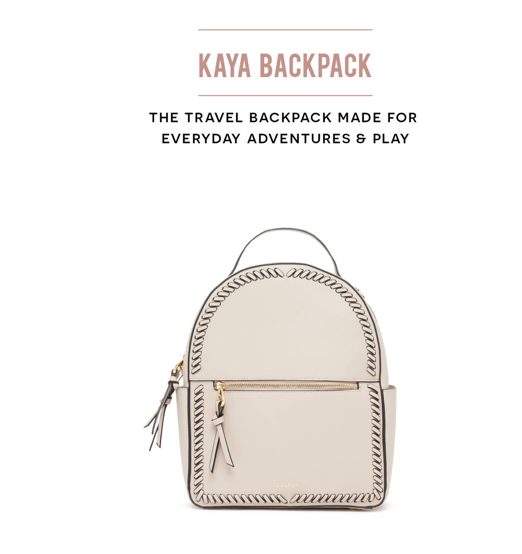 KAYA BACKPACK: The travel backpack made for everyday adventures & play