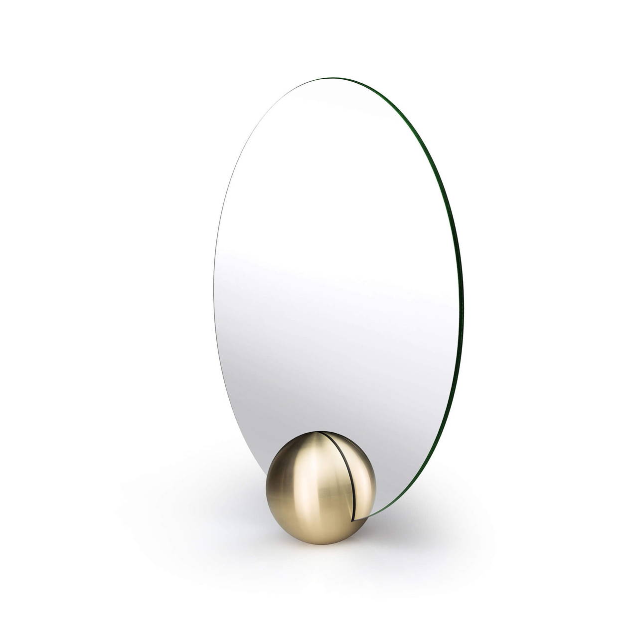O-Mirror 300 in Brass