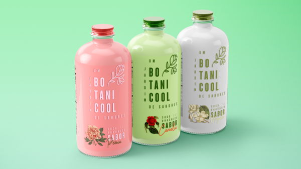 Packaging Design For Botanicool Organic Juices
