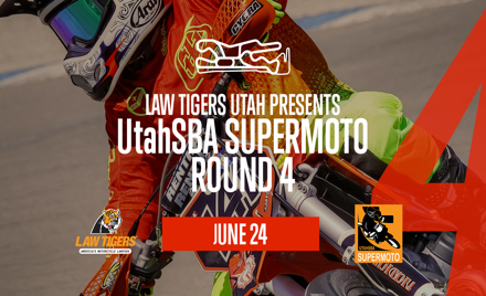 Law Tigers UtahSBA Supermoto RD 4