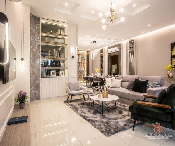 kbinet-classic-modern-malaysia-selangor-family-room-living-room-interior-design
