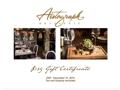 Autograph Brasserie Restaurant Gift Certificate