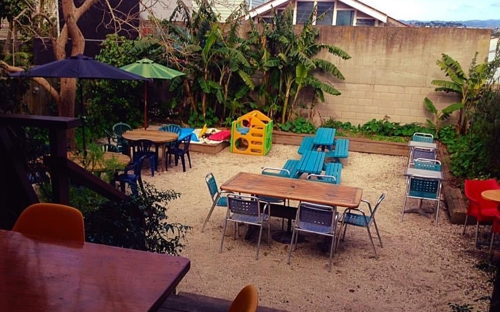 Secret private courtyard in the heart of Ponsonby at Fusion Cafe - 0