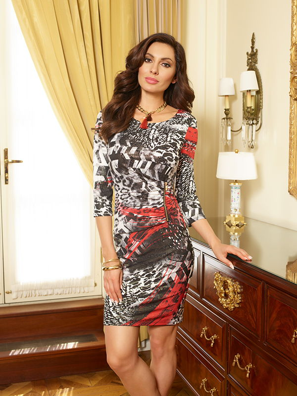 REYNA DRESS | FRANK LYMAN 63584