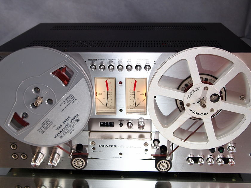PIONEER RT-707 AUTO REVERSE DIRECT DRIVE REEL TO REEL TAPE DECK