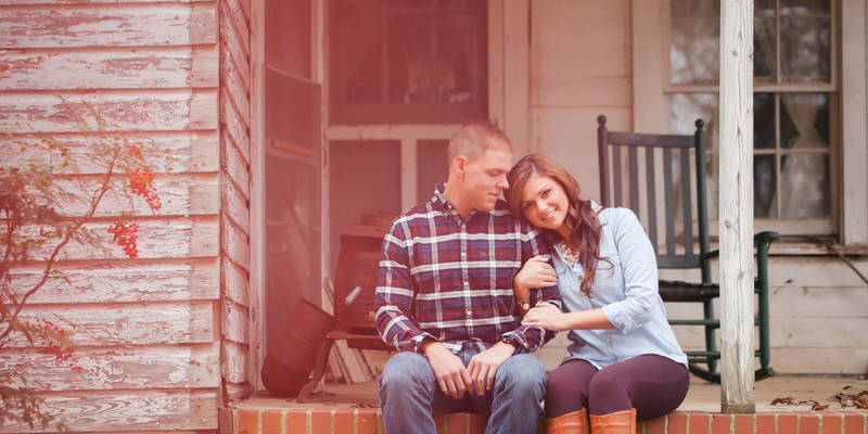 A Sweet Country Engagement Session