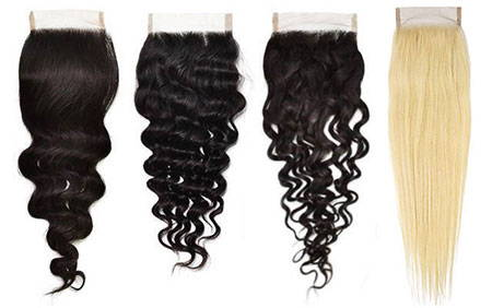 AVERA Virgin Hair Extensions Closures