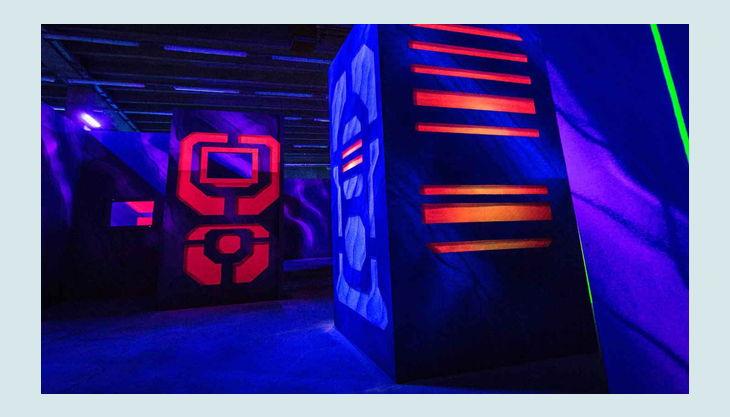 laserzone kiel halle farbe