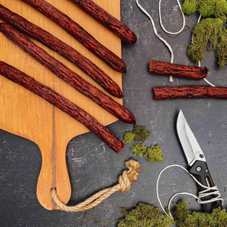 Hunter sausage sticks.