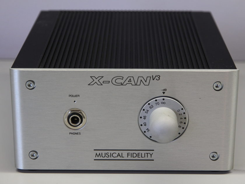 Musical Fidelity X-CANv3 Headphone Amplifier