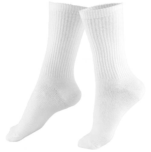 Crew Length Casual Cushion Foot Men's Socks
