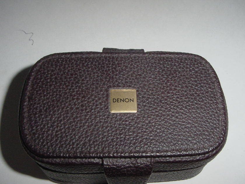 Denon DL-303 low output MC LOMC cartridge complete with leather box and papers