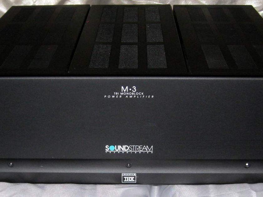 Soundstream M-3 2 channel power amplifier