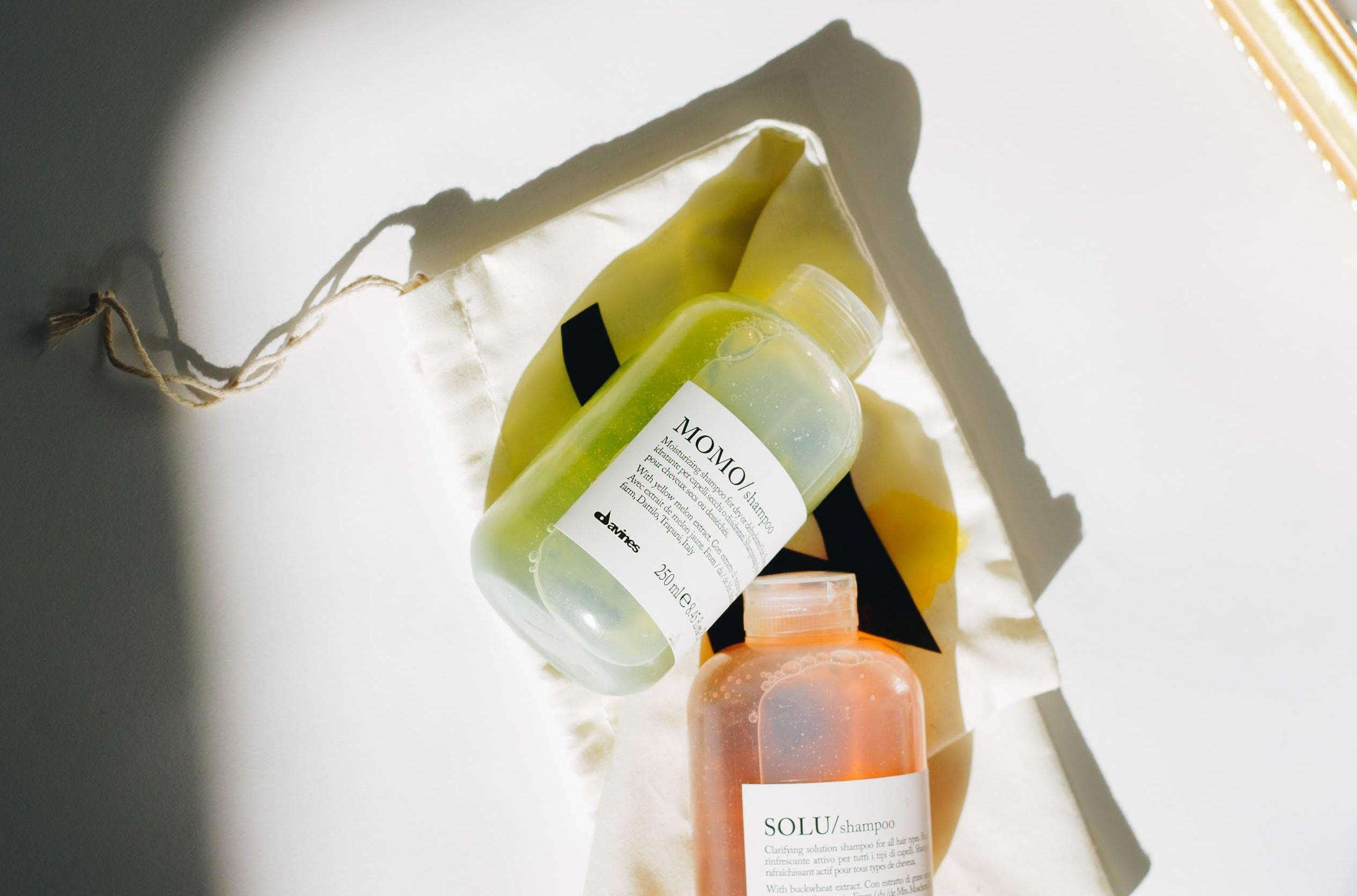 Davines moisturizing shampoo MOMO