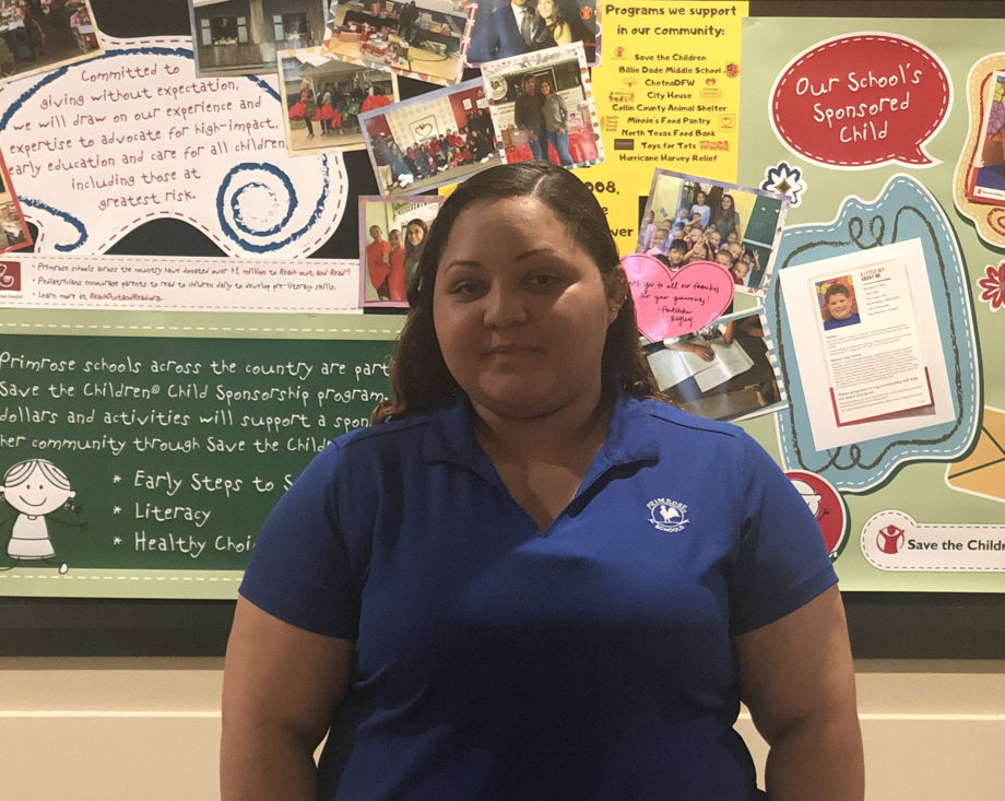 Julie Benavides , Support Teacher