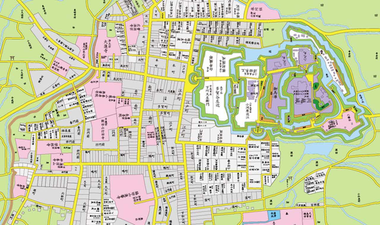 古地図アプリ「大江戸今昔めぐり」が対応エリアを拡大、第一弾は川越市と静岡市
