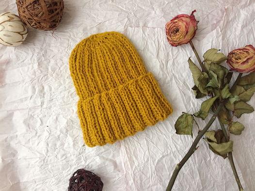 Тёплая шапка STRIPES