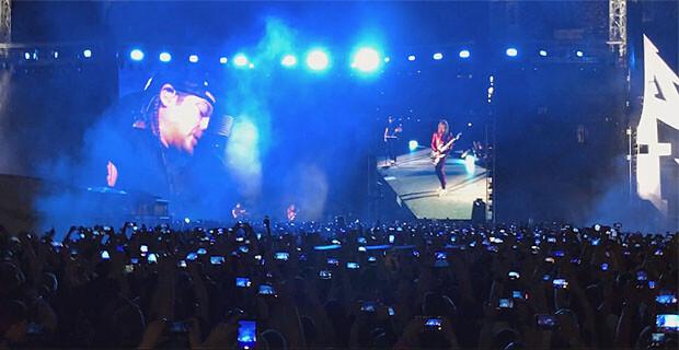Metallica спела «Группу крови» на русском языке - Новости радио OnAir.ru