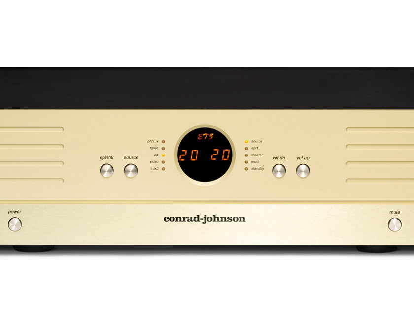 conrad johnson ET5 Enhanced Triode Line Stage Preamplifier,  New with Full Warranty and Free Shipping