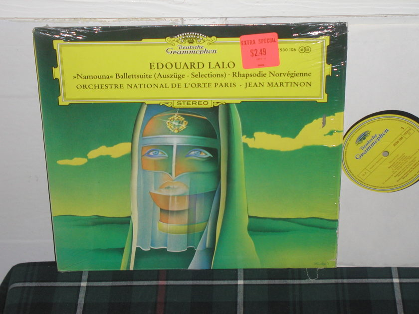 Martinon/Ondl'Op - Lalo Rhapsody Norveg DG German import LP