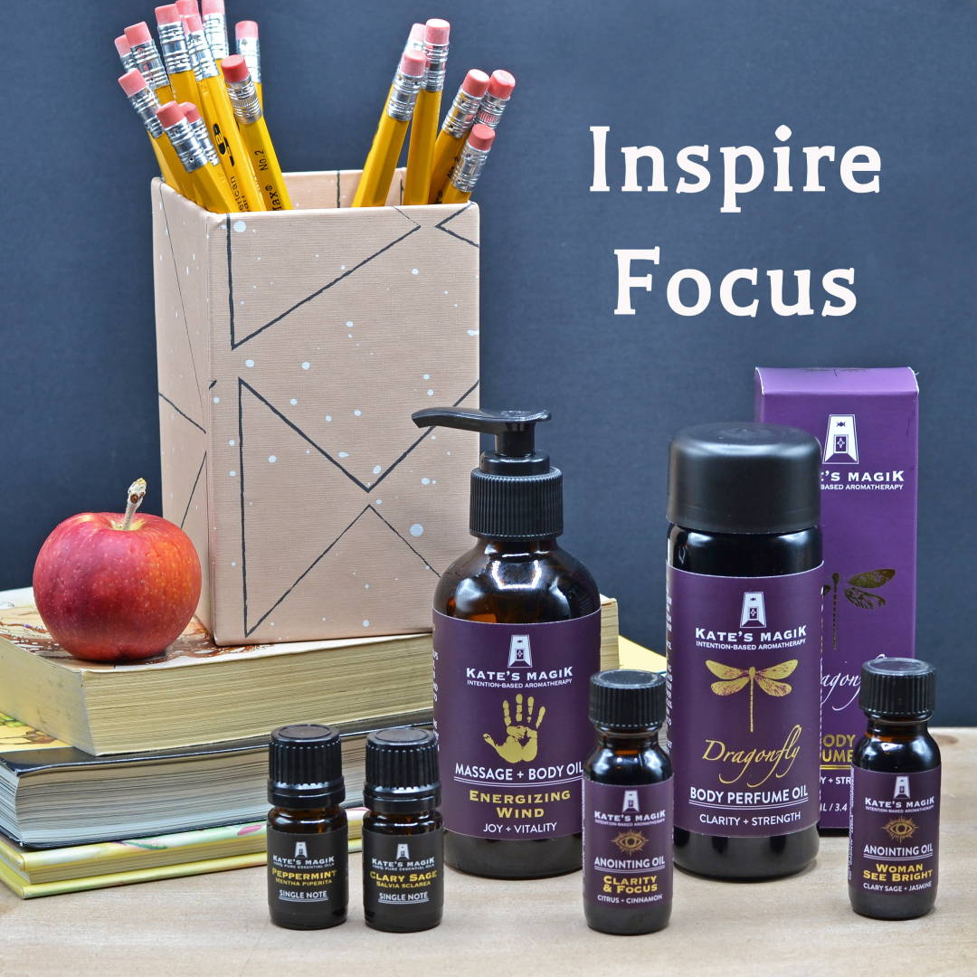 Back to School with Intention-based Aromatherapy