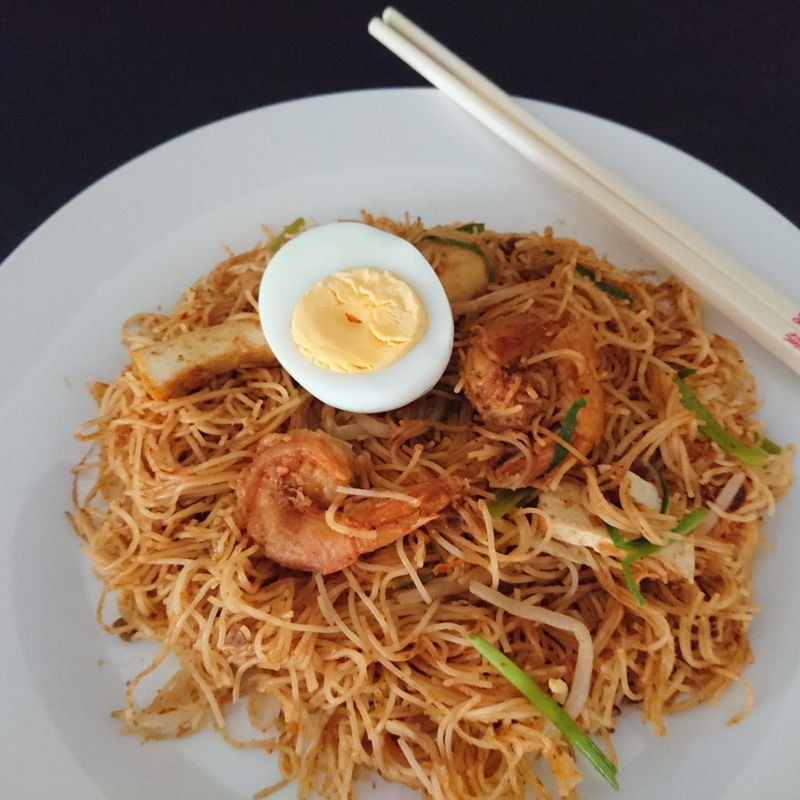 Date: 08 Nov 2019 (Fri) 27th Main: Mihun Goreng Siam [without gravy] [Remake 1 – Score: 8.0]  A remake of the one I prepared on 10 Oct 2019 (Thu).