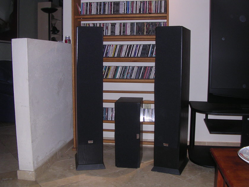 Phase Technology  PC 9.1 - PC 3.1  Home Theater Speaker system
