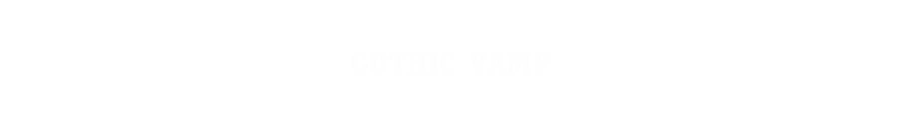 GOTHIC VAMP Collection Title