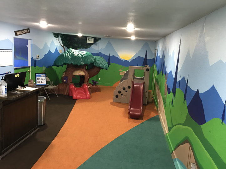 Fully Supplied Daycare Preschool Space