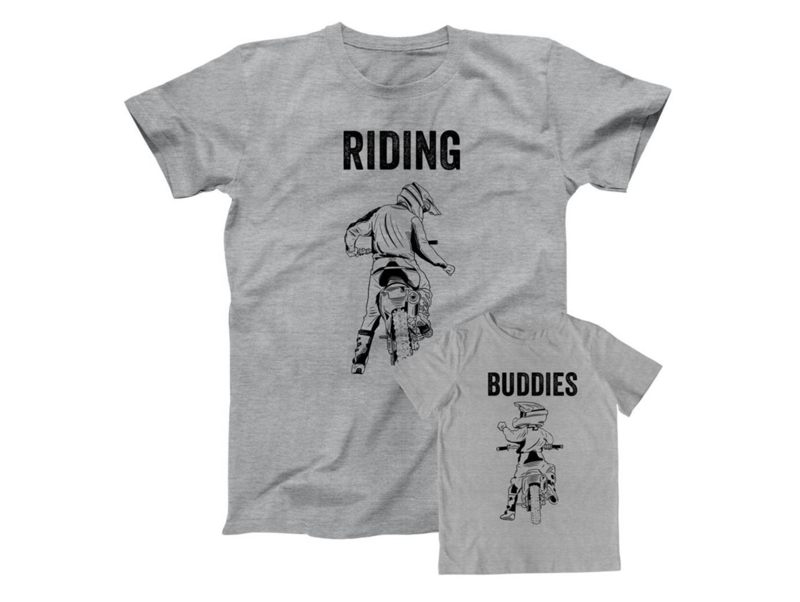 Father & Son Riding Buddies Shirts