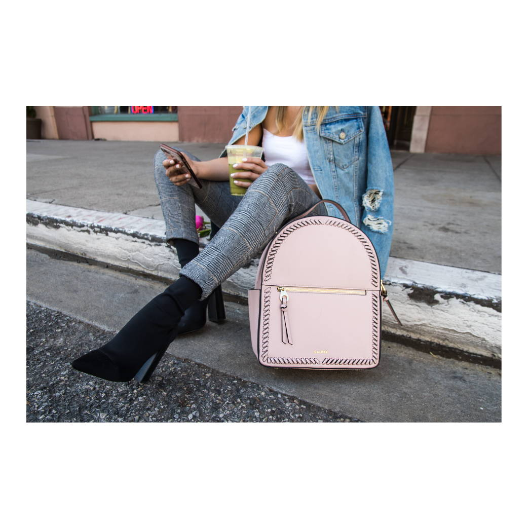 Kaya Backpack in Blush