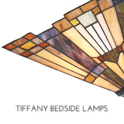 tiffany bedside lamps