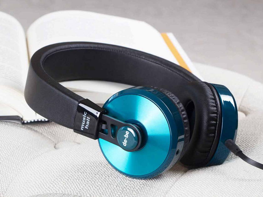 MUSIC HALL de-be Headphones; New-In-Box; Full Warranty; 70% Off Close Out Pricing