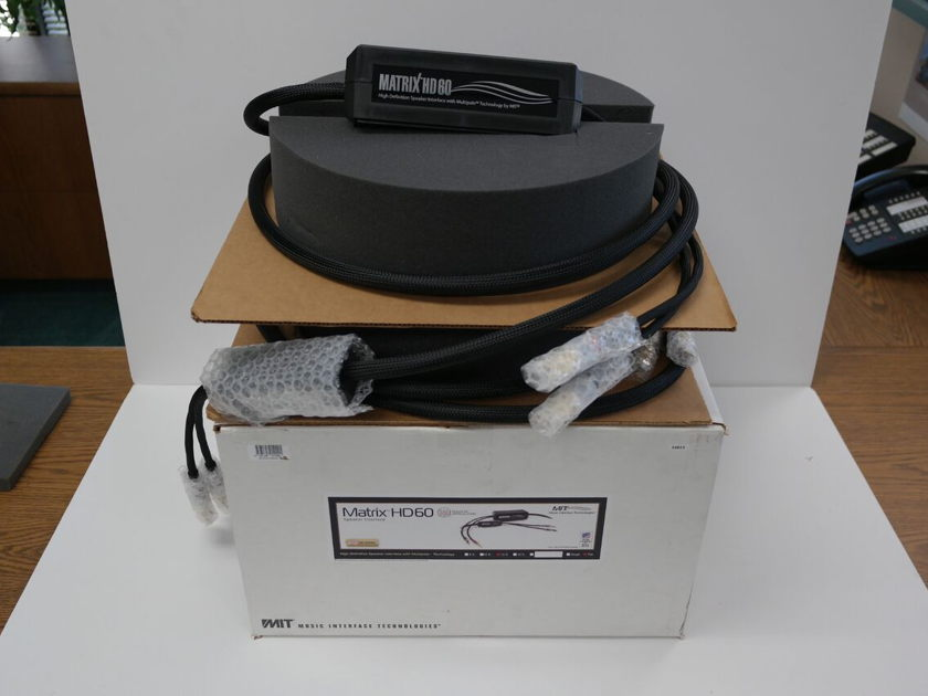 MIT Matrix HD 60 Speaker Cables 12ft pair