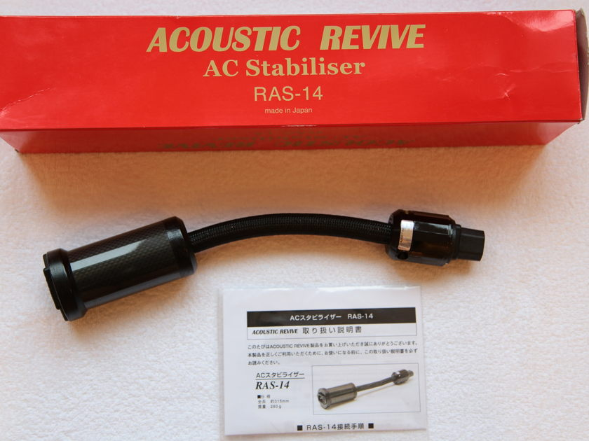 Acoustic Revive RAS-14 AC Power Stabilizer (NEW!)