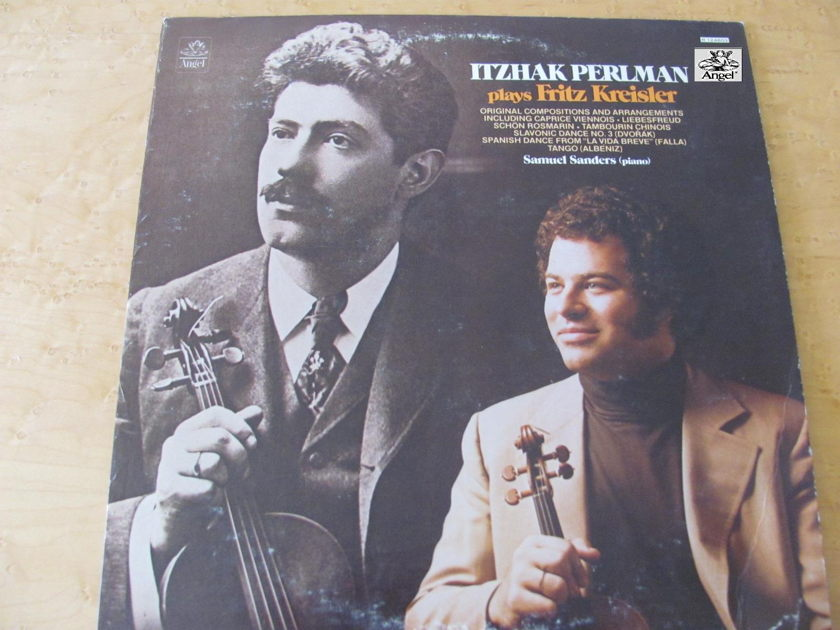 Fritz Kriesler, Itzhak Perlman Plays Frita Kreisler,  - featuring Samuel Sanders- piano Angel Records, NM