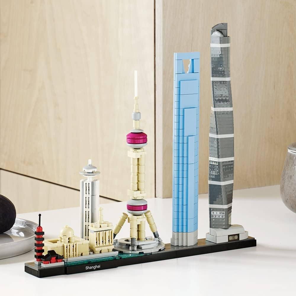 Architecture Shanghai Skyline