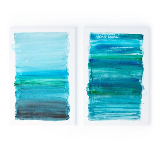 Набор картин Выкрас лазури, 40x60 см