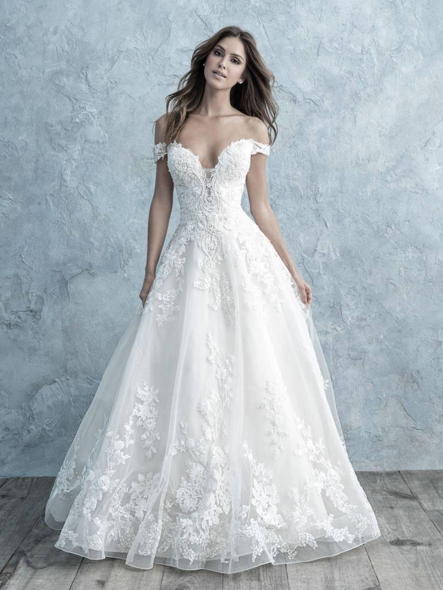 ALLURE  WEDDING DRESS C489