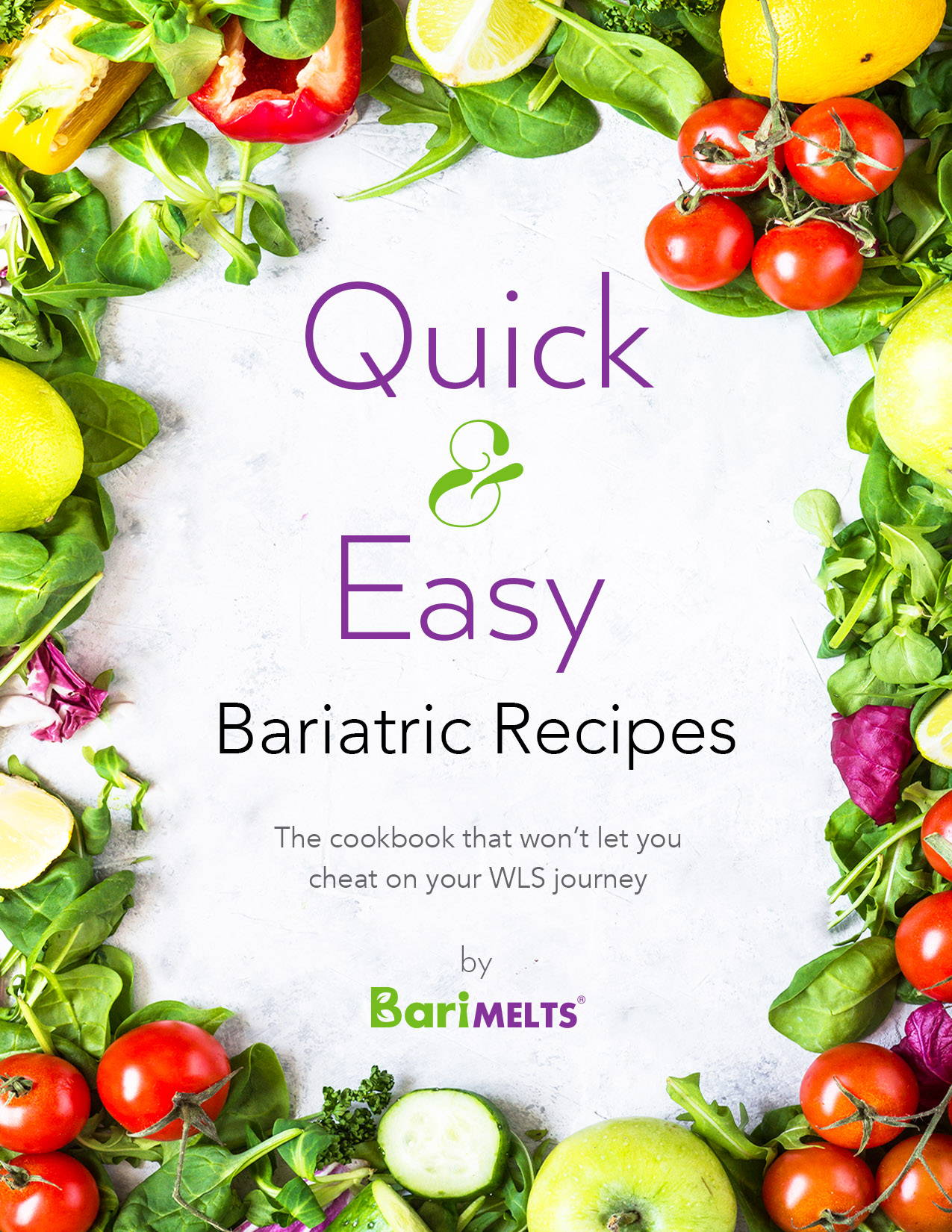 Quick easy bariatric recipes ebook front cover