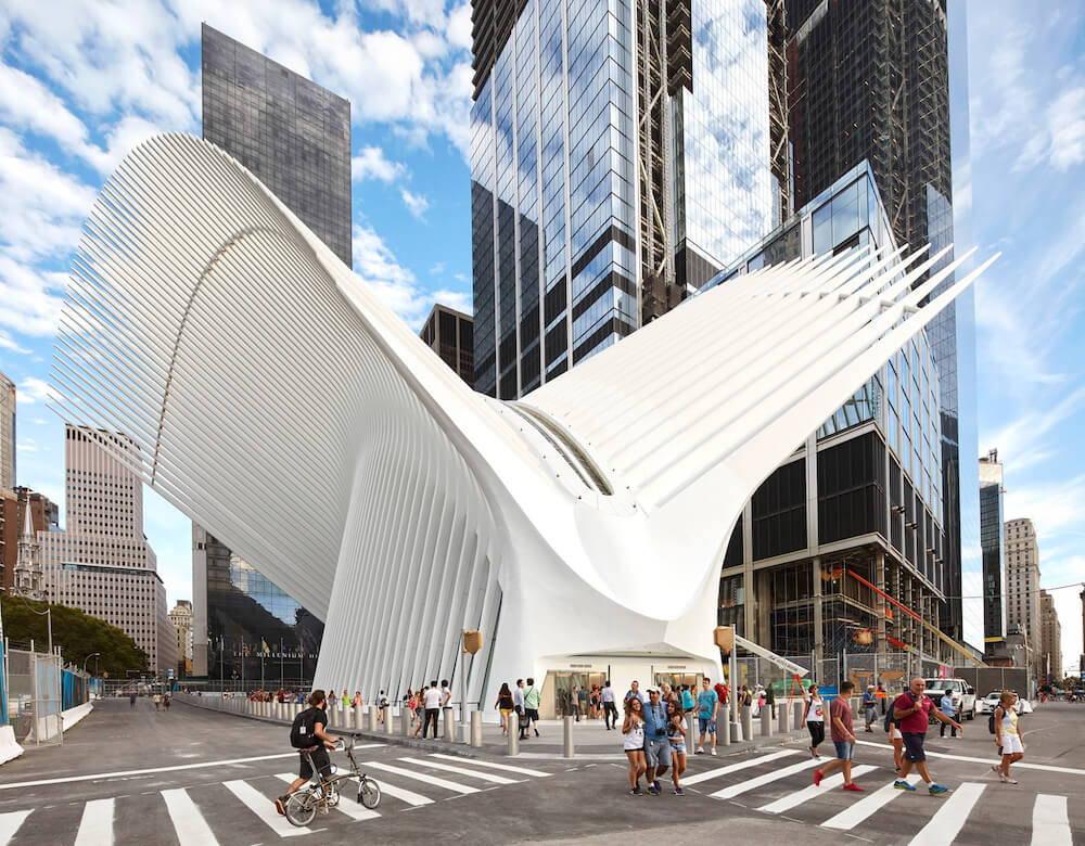 Santiago Calatrava World Trade Center Oculus
