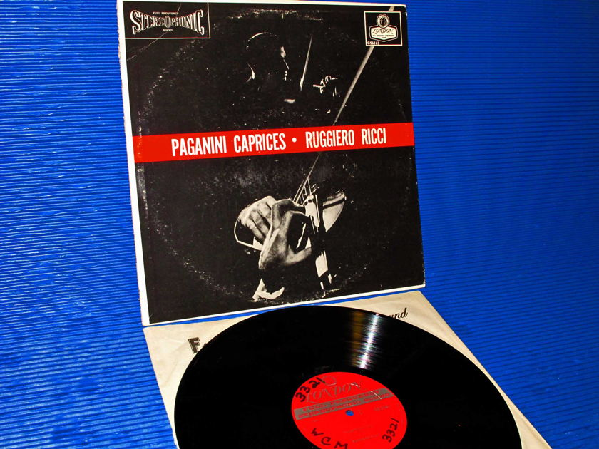 "PAGANINI/Ricci - - ""Caprices 1-24"" - London 1963 early pressing"