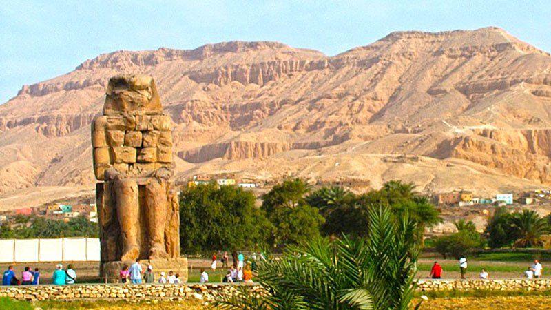Colossus of Memnon, Luxor, Egypt
