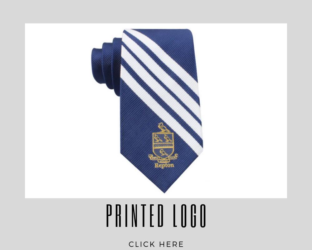Custom Printed Logo Corporate Necktie