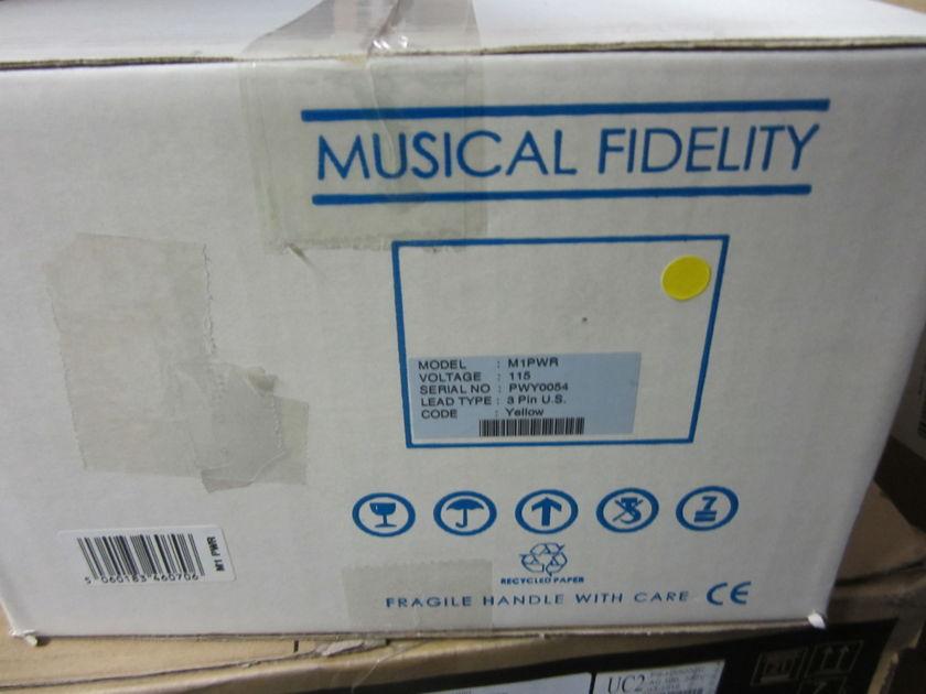 Musical Fidelity M-1 power amp Sealed