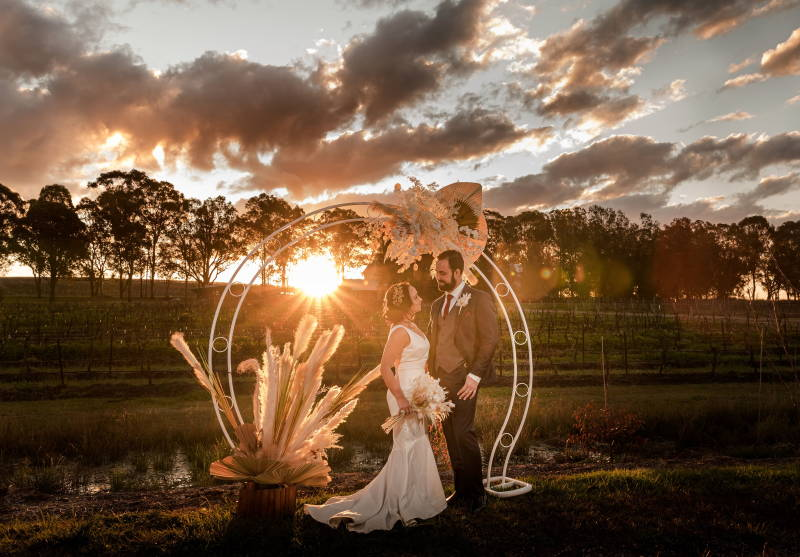 Front photo of Peterson House Wedding Chapel in Hunter Valley Winery